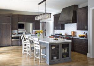 Modern luxury kitchen, transitional design