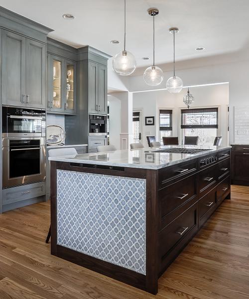 image of kitchen island